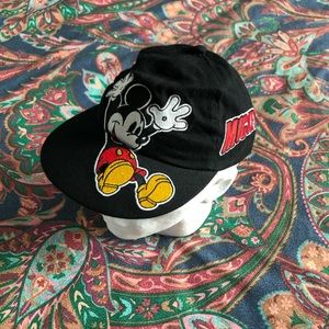 Vintage Embroidered YOUTH Mickey Mouse Hat